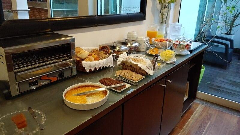 コスタノバホテル 朝食