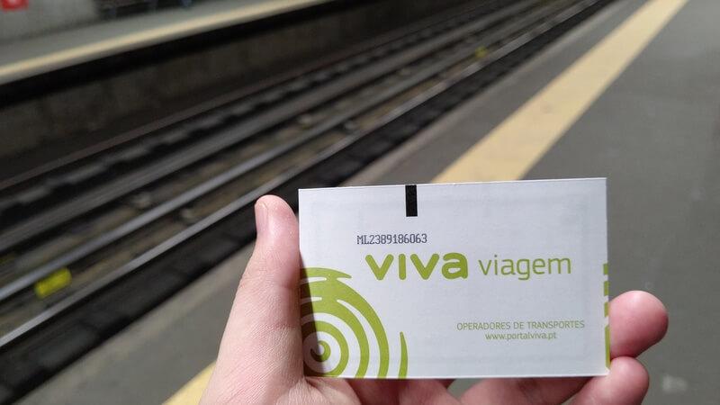 リスボン  Viva viagem card