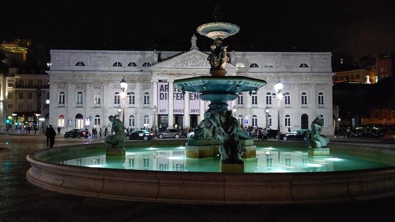 リスボン ロシオ広場