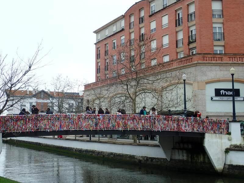 アヴェイロ 鍵 橋